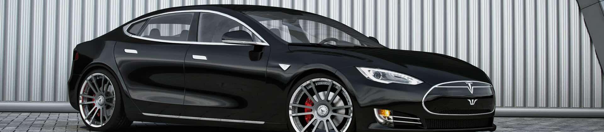 Felgen konkav Tesla S tuning