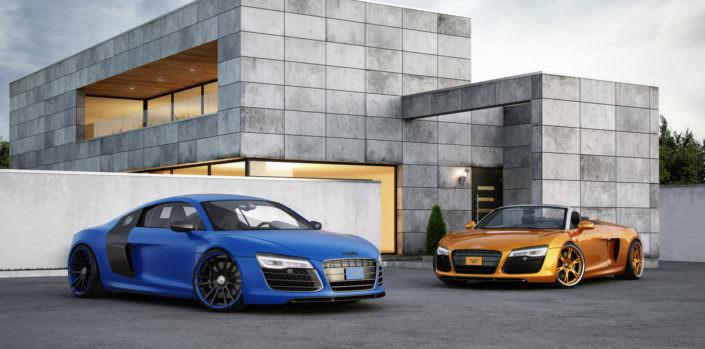 Audi R8 Plus Tuning V10