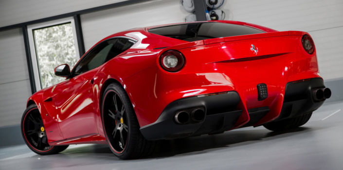 Ultraleichte 6Sporz² Felgen mit geschmiedeten Felgensternen für Ferrari F12, zu 100% in Deutschland in Handarbeit hergestellt