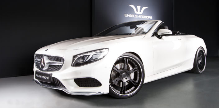 22 inch wheels from germany for s63amg convertible