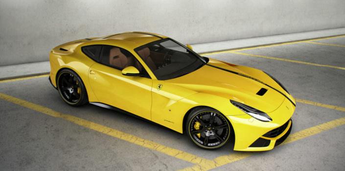 Ferrari F12 Berlinetta mit geschmiedeten, ultraleichten 6Sporz² Felgen in 9,5x21 + 12,5x22 Zoll, klappengesteuerte Auspuffanlage und Leistungssteigerung auf 785 PS
