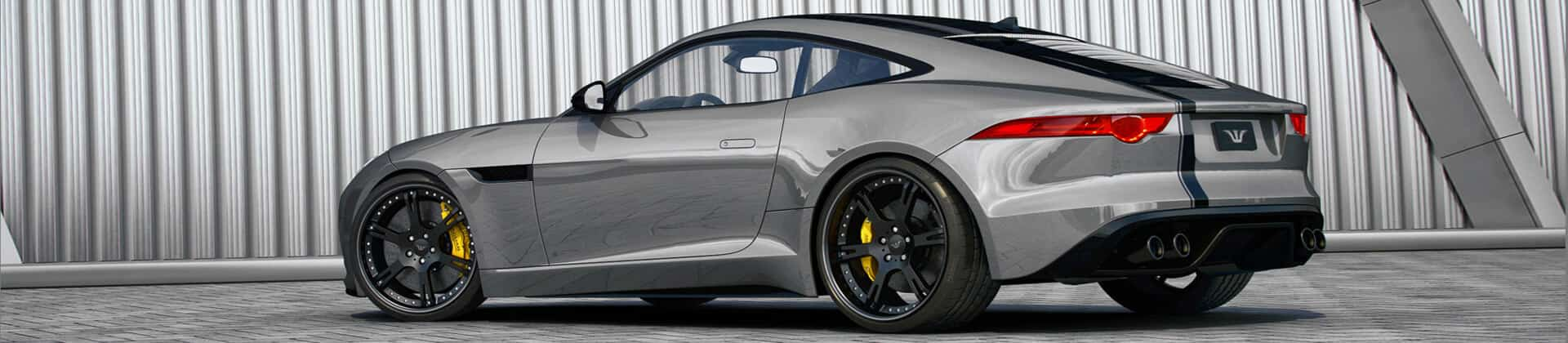 Jaguar F-Type tuning with wheels and exhaust | Wheelsandmore
