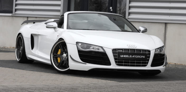 R8GT Sypder Front polish