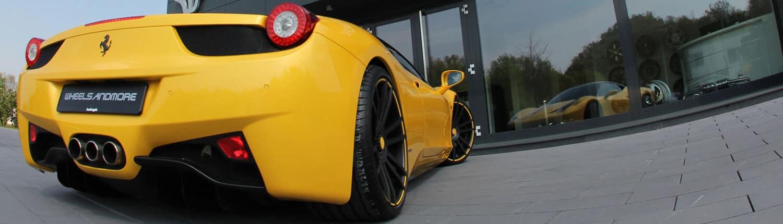 Ferrari 458 Italia Fahrzeuggalerie