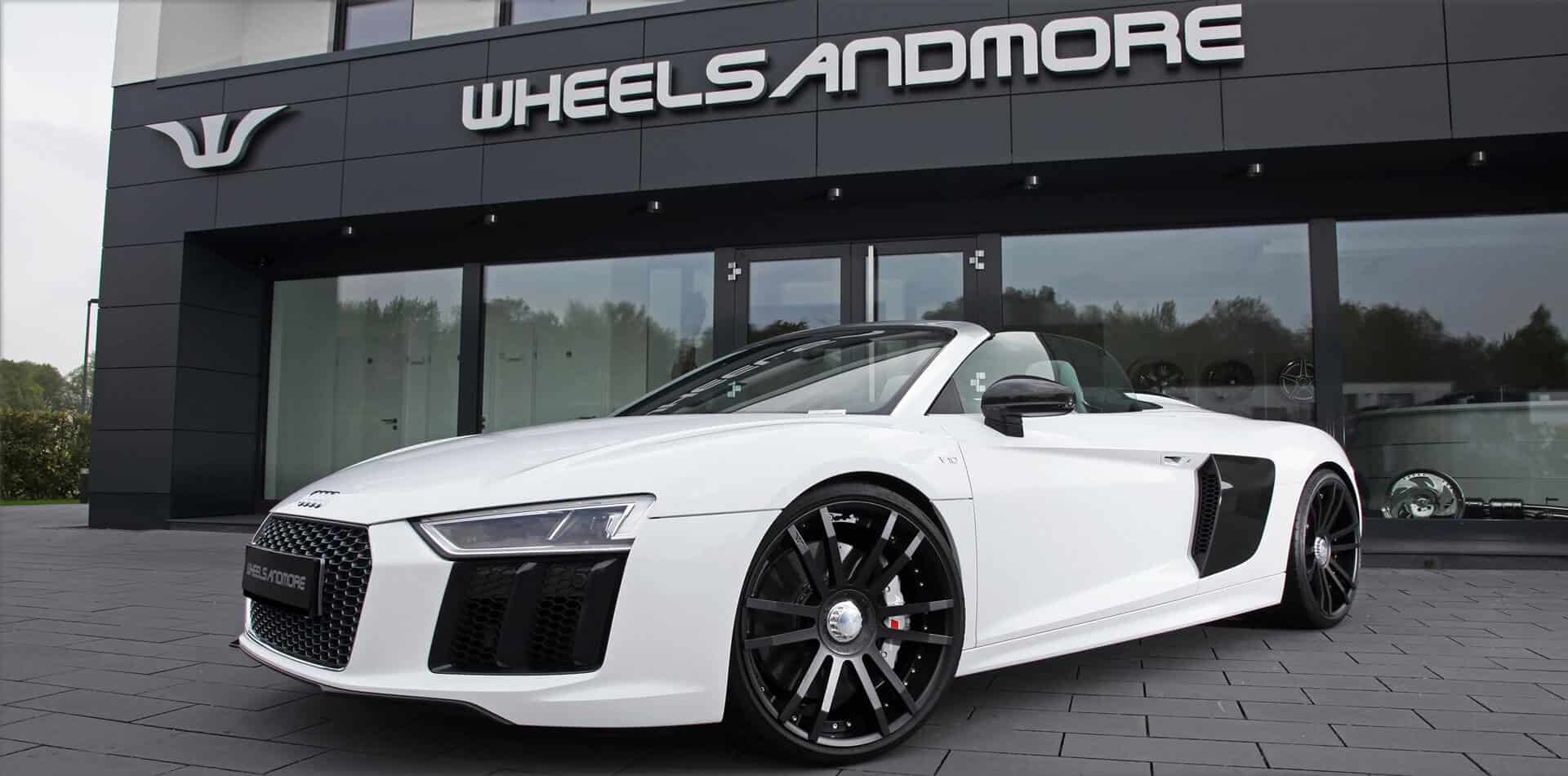 audi r8 tuning wheels exhaust and power upgrades. Black Bedroom Furniture Sets. Home Design Ideas