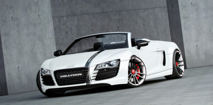 20 inch forged wheels Audi R8 Spyder