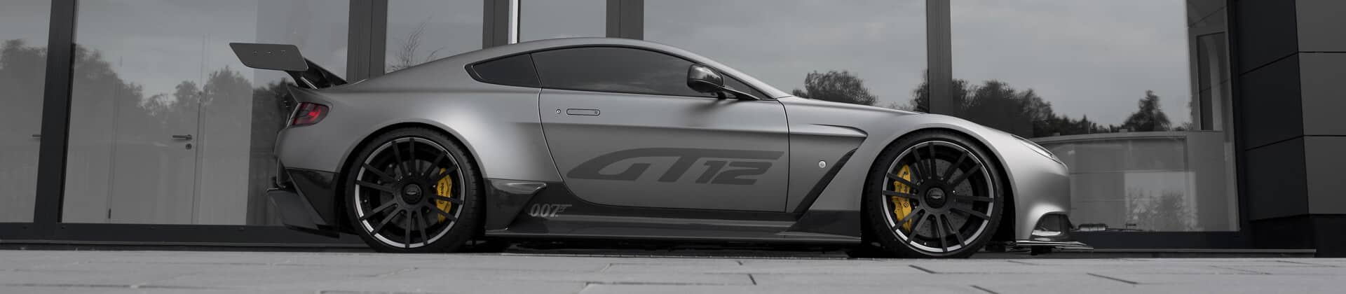 Aston Martin GT12 Exhaust