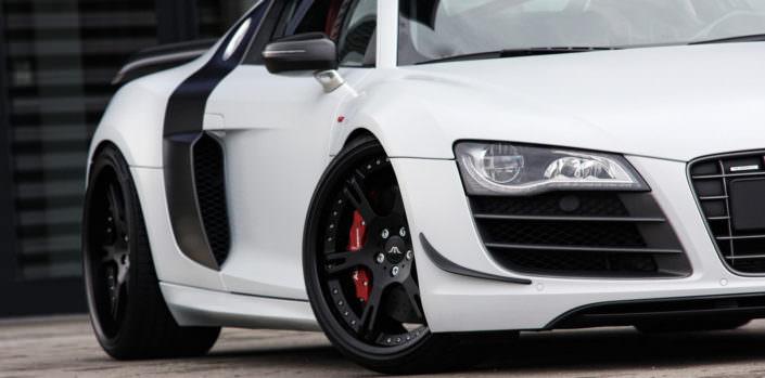 Audi R8GT exhaust