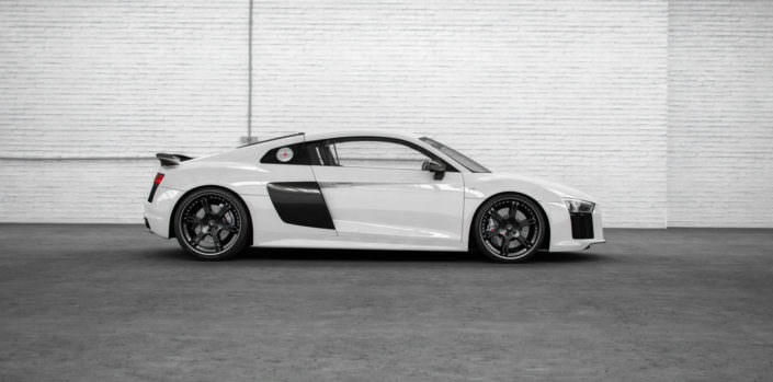 Audi R8 V10 exhaust