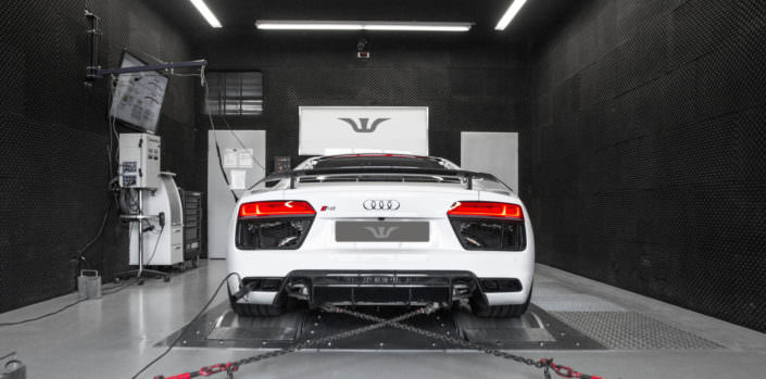Audi R8 V10 power upgrades