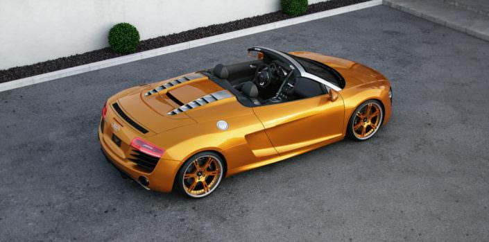 Audi R8 V10 Spyder wheels 21 inch