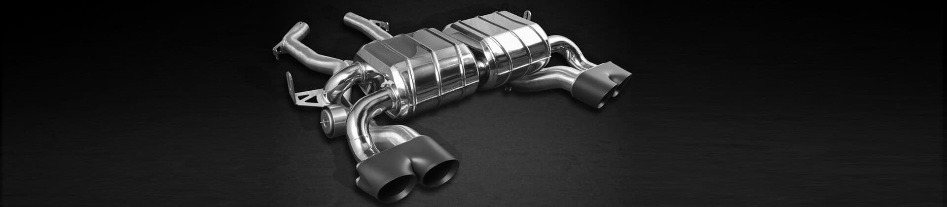 BMW M4 exhaust