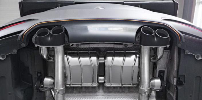 BMW M4 loud exhaust