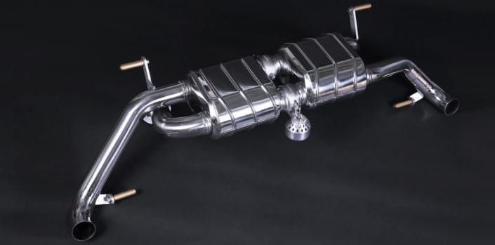 R8 GT exhaust