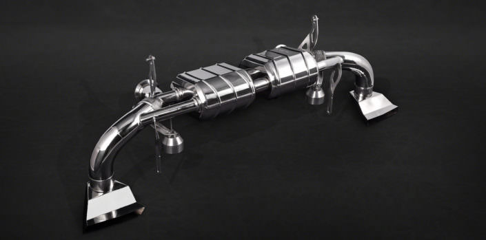 Stainless stell exhaust R8 V10 2016 Audi