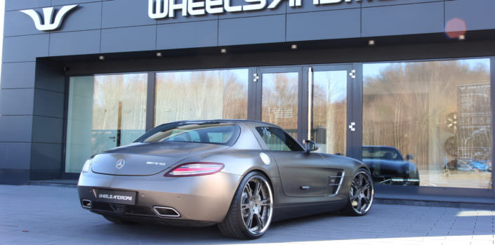 wheels exhaust sls amg tuning
