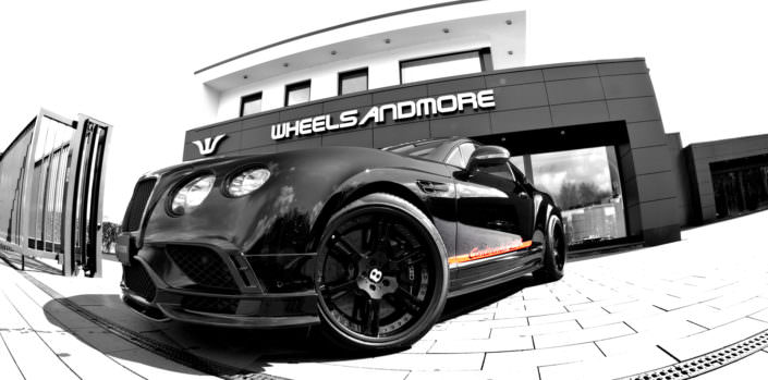 tuning bentley 21 inch wheels