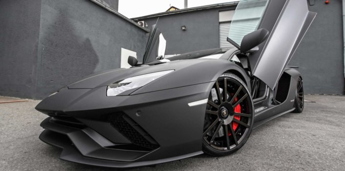 front view aventador s tuning