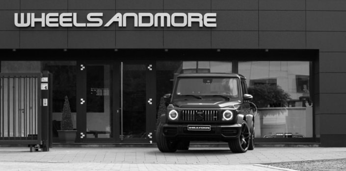 g63 amg tuning with 780 hp at wheelsandmore building