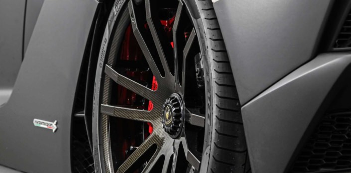 carbon surface forged FIWE wheels
