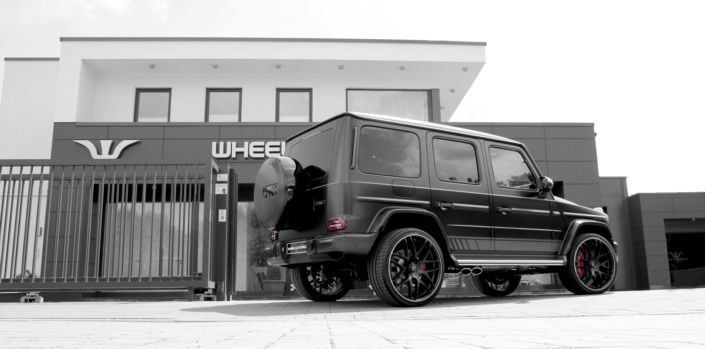 side rear view g63 tuning by wheelsandmore