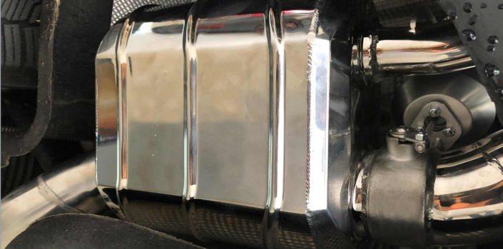 close up valve flap exhaust bentley new continental