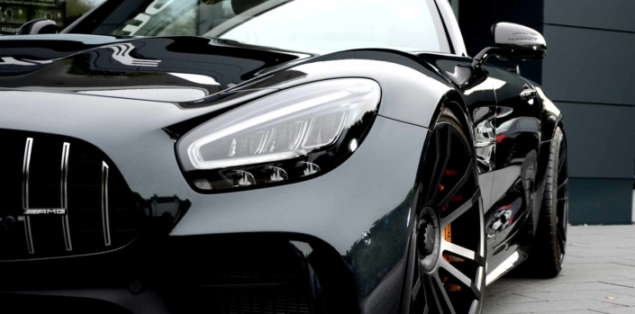 close up front wheel amg gtr 20 inch