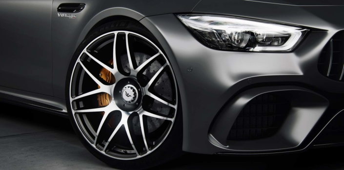 close up view 22 inch wheel for GT63
