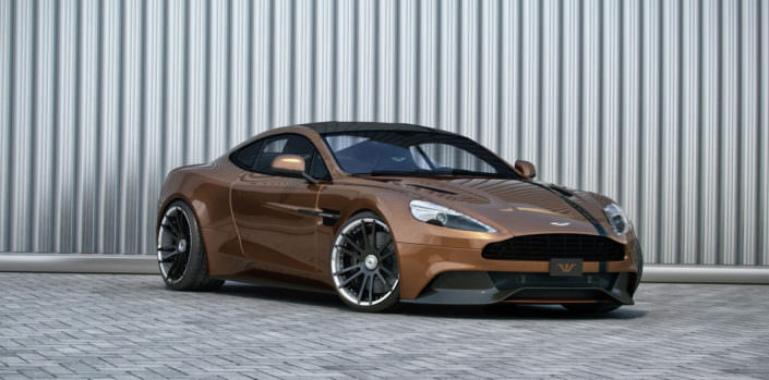 wheels individual customized aston martin vanquish
