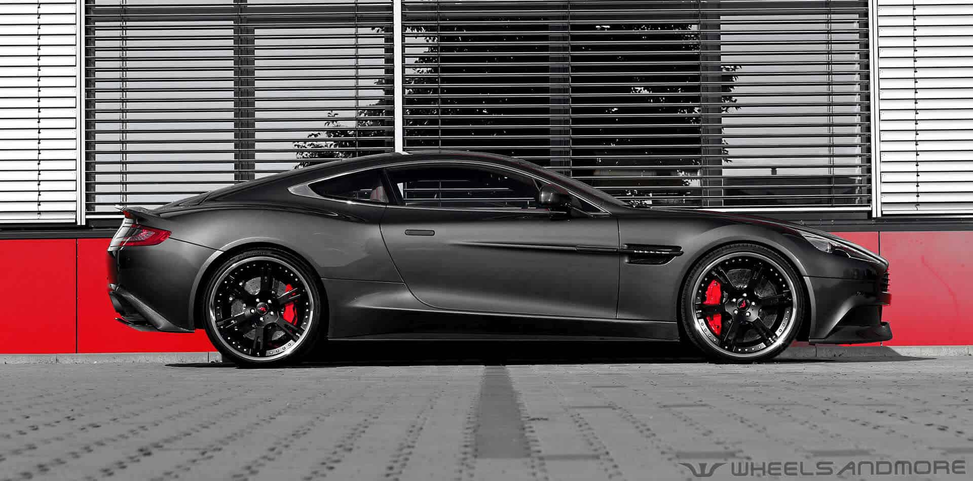 Aston Martin Vanquish Tuning With Wheels And Exhaust Wheelsandmore Wheelsandmore Tuning