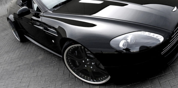 wheels and suspension aston martin vantage