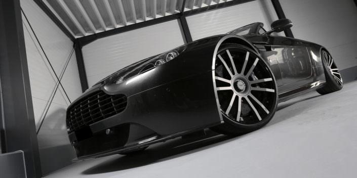 20 inch wheels aston martin vantage tuning