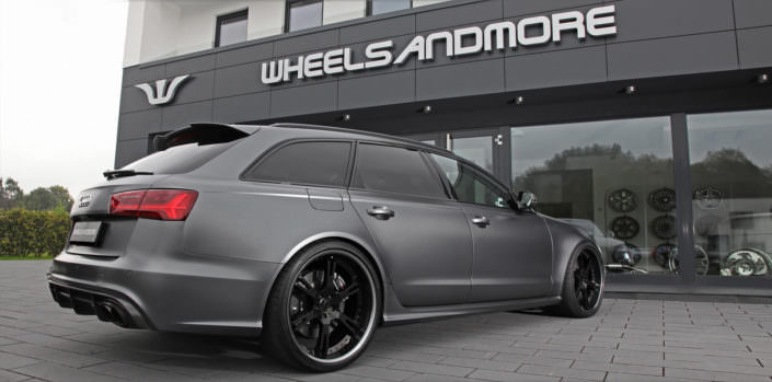 large and lightweight 6Sporz² wheels for Audi RS6
