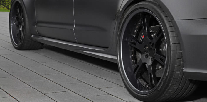 Mulktipart wheels handcrafted for Audi RS6