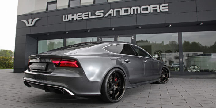 rs7 with tuning upgrade and 22 inch wheels