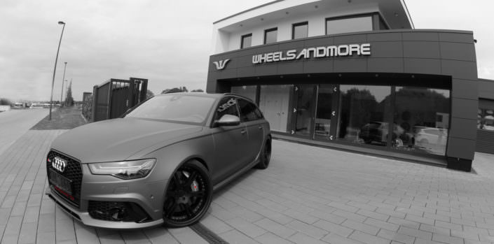 Audi RS6 tuning by wheelsandmore with wheels exhaust and power upgrade