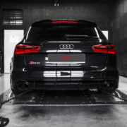 ecu remapping on dyno for audi rs6