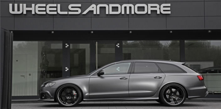 suspension Audi RS6 adjustable springs