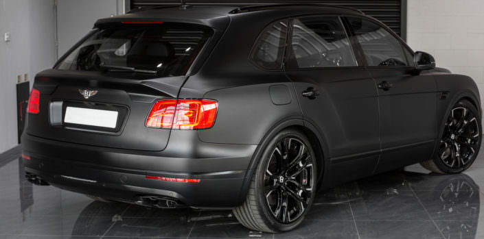 setup suspension bentayga with wheels