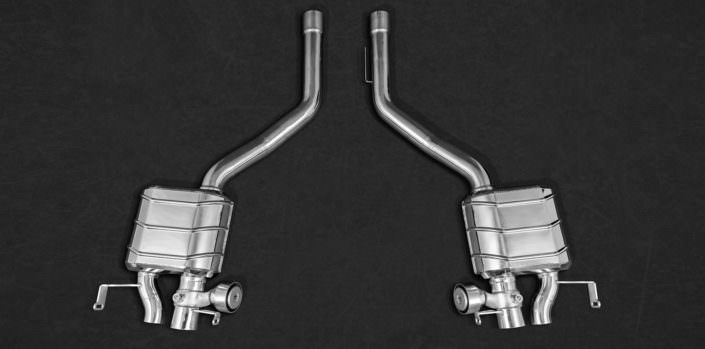 exhaust 1.4828 stainlees steel bentley