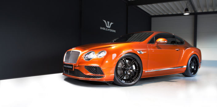 707hp bentley tuning