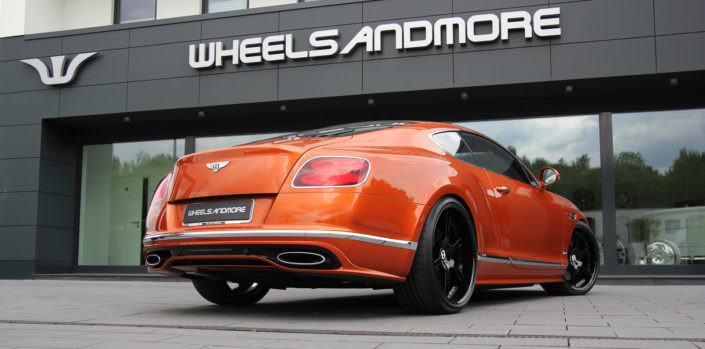 712hp bentley continental gt speed
