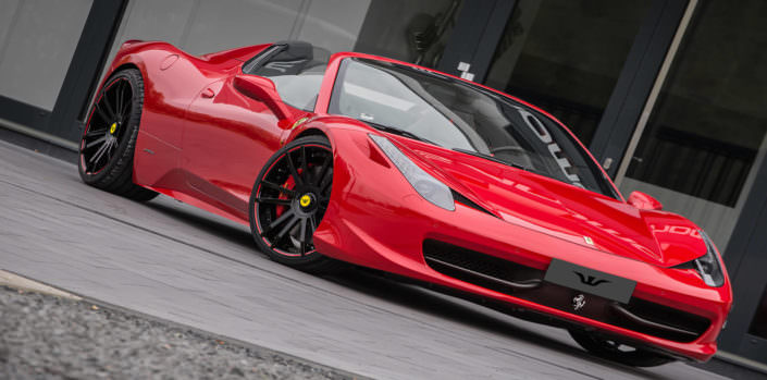 high-end ferrari 458 tuning by wheelsandmore germany