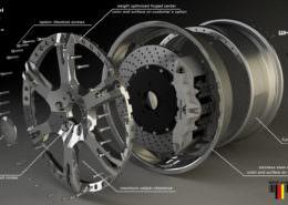 Custom 3-piece wheel ferrari 6Sporrz2