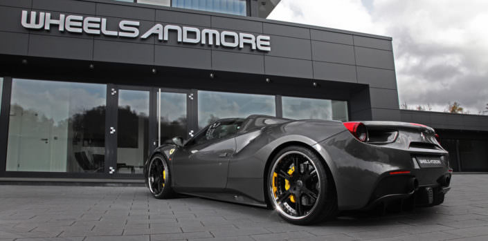 777hp in ferrari 488 gts by wheelsandmore tuning