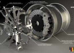 FIWE wheels 21 and 22 inches for ferrari