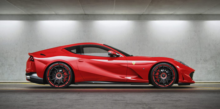 side view red 812 superfast tunign wheels
