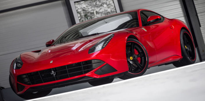 22 inch staggered wheels 6sporz on ferrari f12