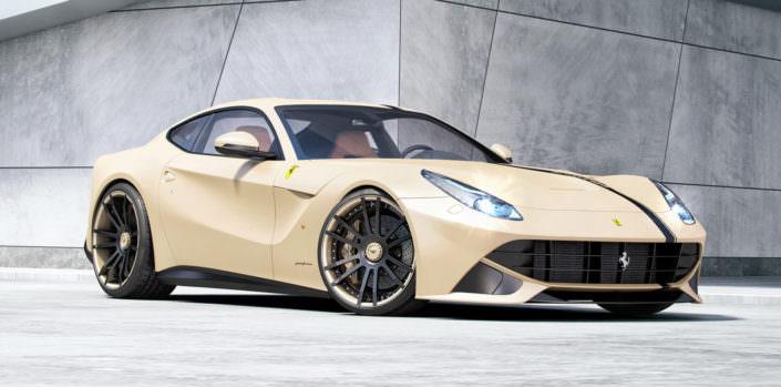 ferrari wheels concave 22 inches rear