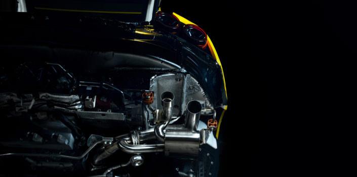lightweight exhaust ferrari gtc4 lusso